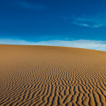 Bild von den Dünen im Death Valley Nationalpark