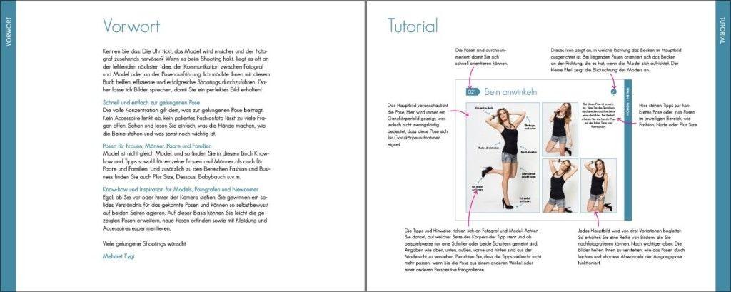 Beispiel Model-Posen Seite